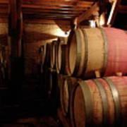 Colchagua Valley Wine Barrels II Art Print