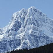 Cold Mountain- Banff National Park Art Print