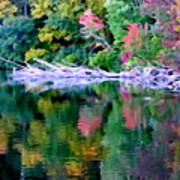 Cold Spring Harbor Reflections Art Print