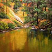 Cold Water Creek II Art Print