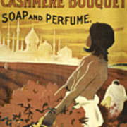 Colgate Cashmere Bouquet Advertising Poster Art Print