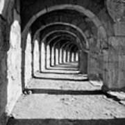 Coliseum Corridor Art Print