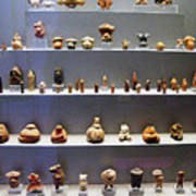 Collection Of Figurines Art Print