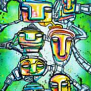 Collective Minds Art Print