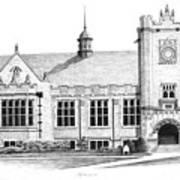 College House Art Print