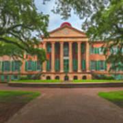 College Of Charleston Main Academic Building Art Print