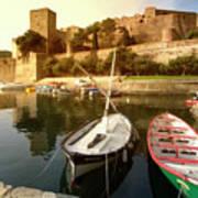 Collioure Castle Art Print