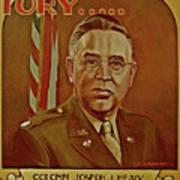 Colonel Joseph J. Healy Art Print by Dean Gleisberg