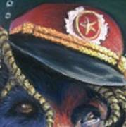 Colonel Nose Knows Close-up Art Print