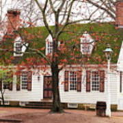 Colonial House Art Print