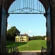Colonial View Of Fort Washington Art Print