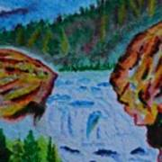 Color At The Firehole Art Print