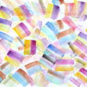 Color Burst 2 Art Print