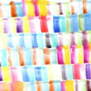 Color Burst 3 Art Print