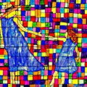 Color Coded Memories Art Print