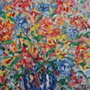 Color Expressions. Art Print
