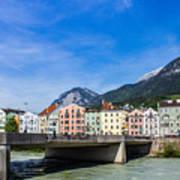 Color In Innsbruck Art Print