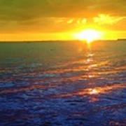 Color Me A Tropic Sunset Art Print