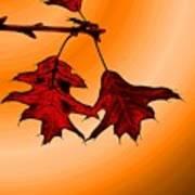 Color Me Autumn 3 Art Print