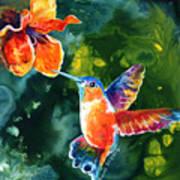 Color Me Humming Art Print
