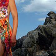 Color Nude 024 Art Print