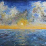 Color Of Ocean Art Print