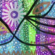 Color Rumble Art Print