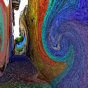 Color Undertow Art Print