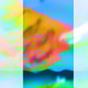 Color Wave Art Print