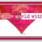 Color Your World 2 Art Print