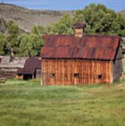 Colorado Barn 5817 Art Print