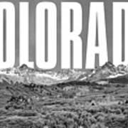 Colorado Cityscape Art Print