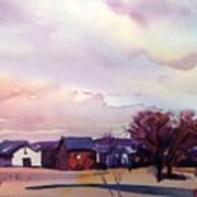 Colorado Farm Art Print