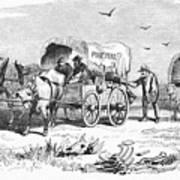 Colorado Gold Rush, 1859 Art Print