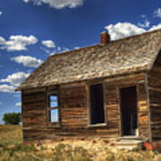 Colorado Homestead Art Print