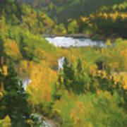 Colorado Lake And Colors Art Print
