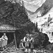 Colorado: Mining, 1874 Print by Granger