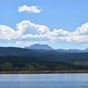 Colorado Mountain Lake Art Print