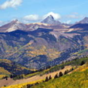 Colorado Mountains 1 Art Print