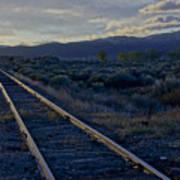 Colorado Railroad Crossing Art Print