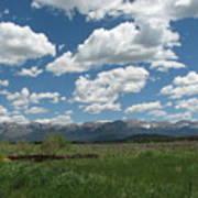Colorado Ranch Art Print