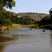 Colorado River Bend Texas Art Print