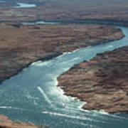 Colorado River In Arizona Art Print