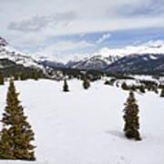 Colorado Snow Scene Art Print
