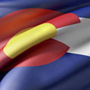 Colorado State Flag Art Print