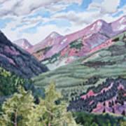 Colorado Valley Art Print