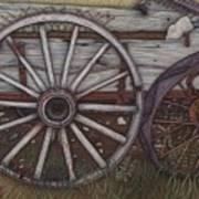 Colorado Wheels Art Print