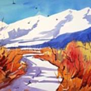 Colorado Winter 2 Art Print