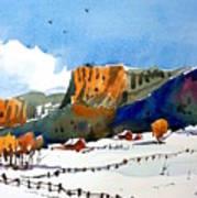 Colorado Winter 6 Art Print