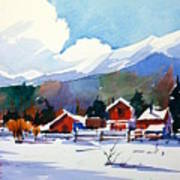 Colorado Winter 8 Art Print